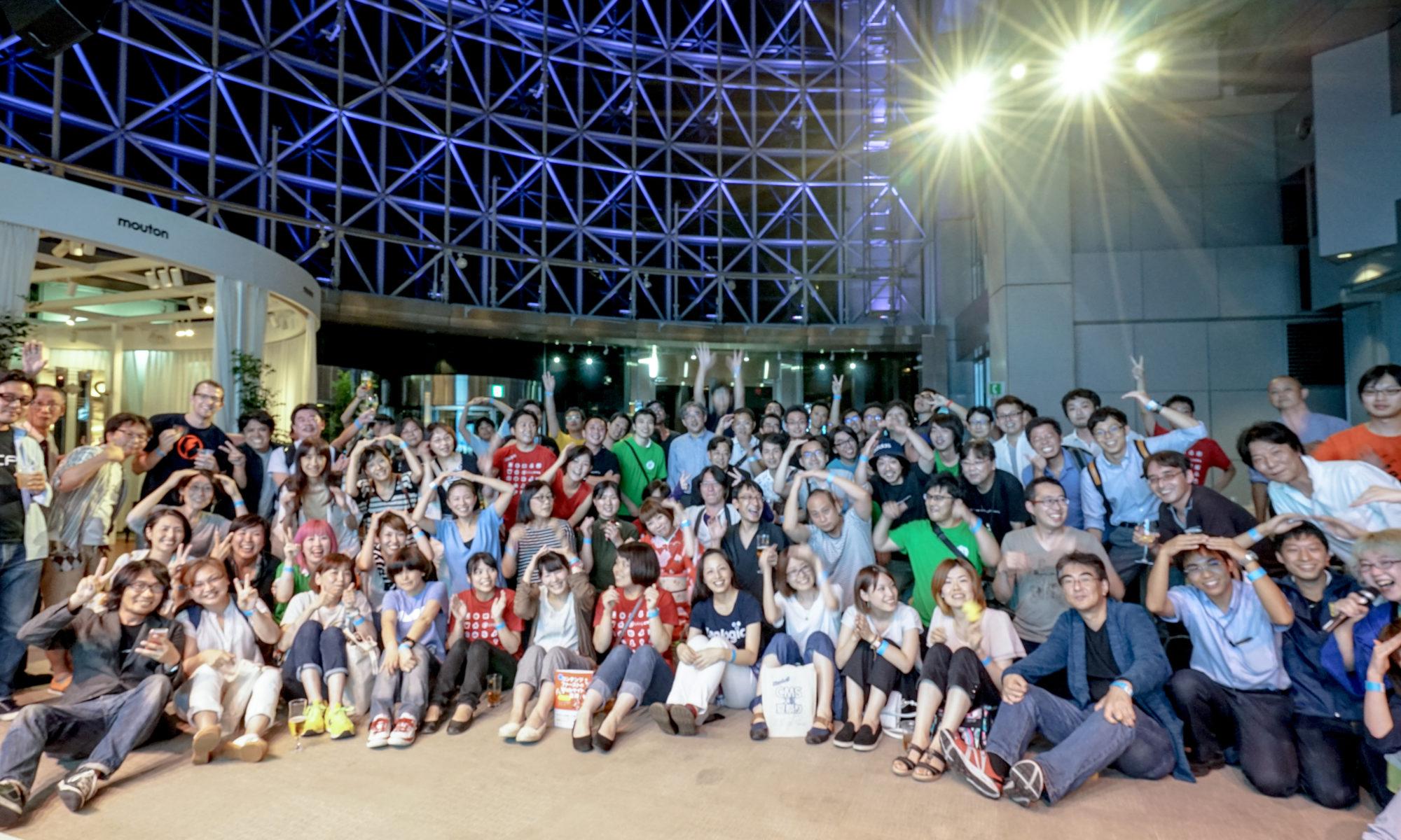 CMS大阪夏祭り集合写真